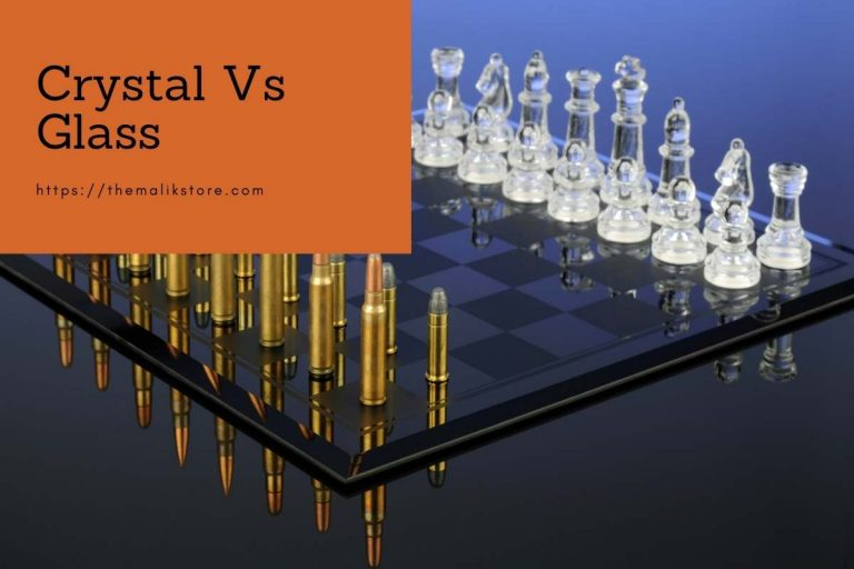 5 Key Difference Between Crystal & Glass