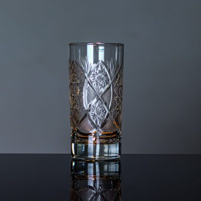Unique Crystal Highball Glass
