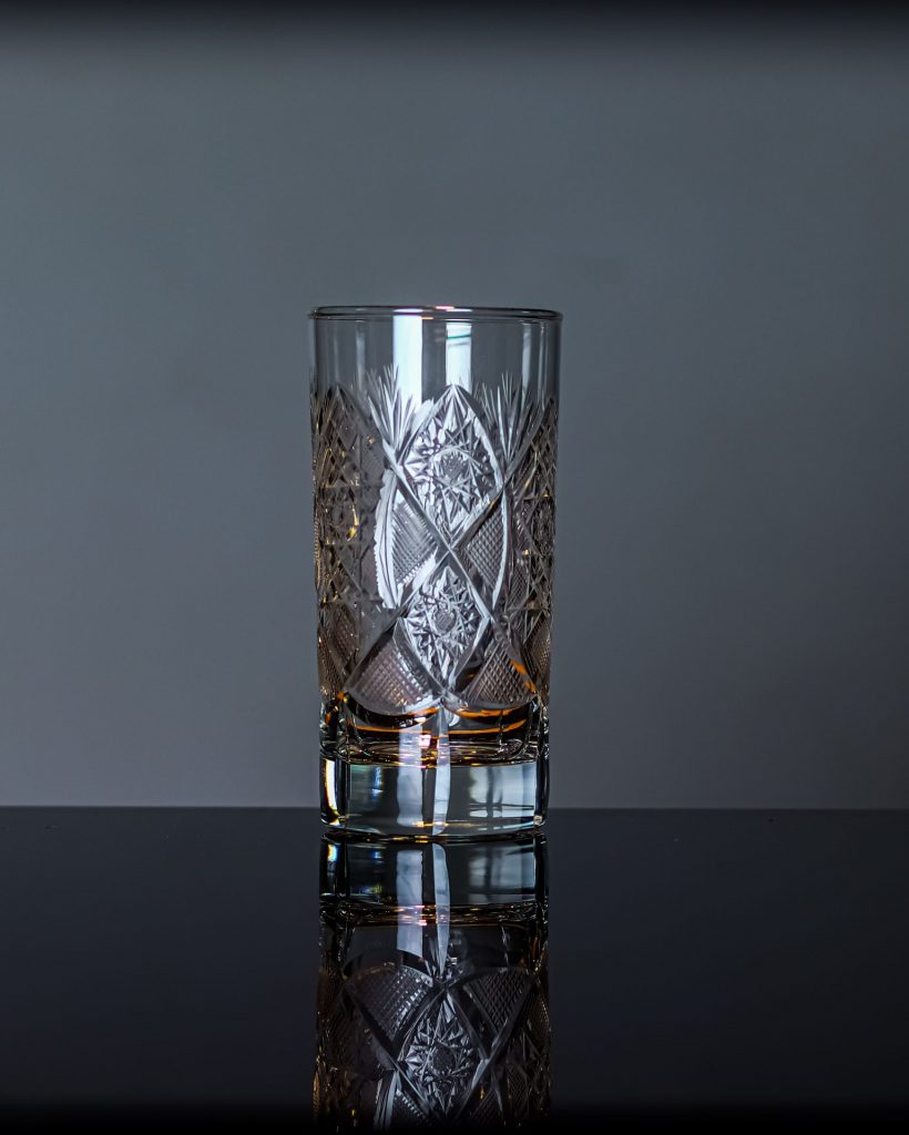 Unique Crystal Highball Glass 1