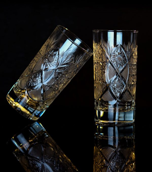 Unique Crystal Highball Glass 2