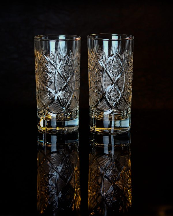 Unique Crystal Highball Glass 3