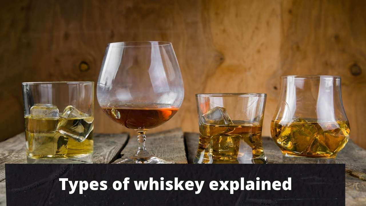 Read more about the article 9 Different Types of whiskey explained !