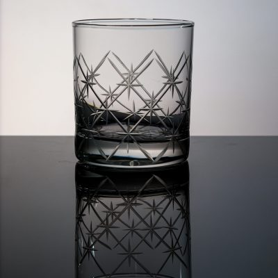 Volcano Old Fashioned Whiskey Glass