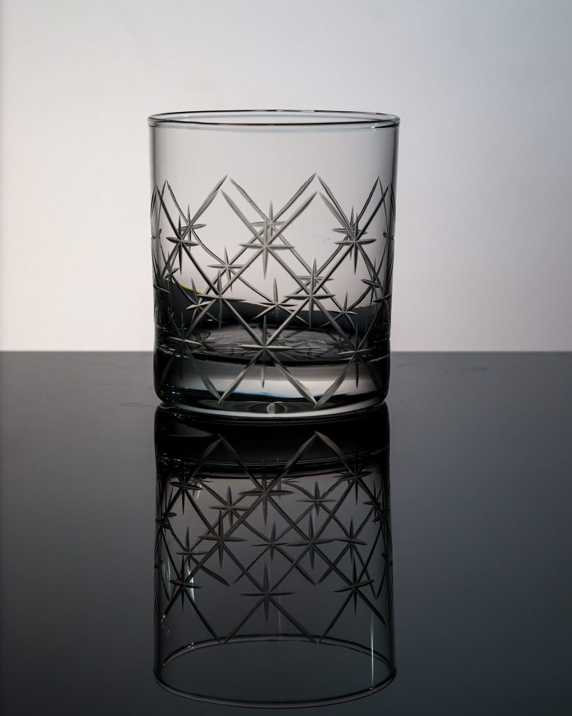 Volcano Old Fashioned Whiskey Glass 1