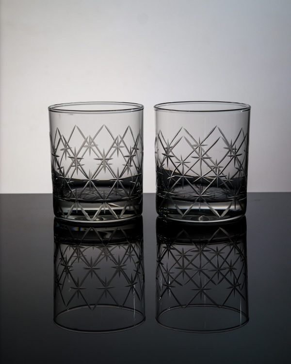 Volcano Old Fashioned Whiskey Glass 2