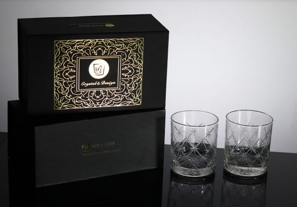 Volcano Old Fashioned Whiskey Glass 3