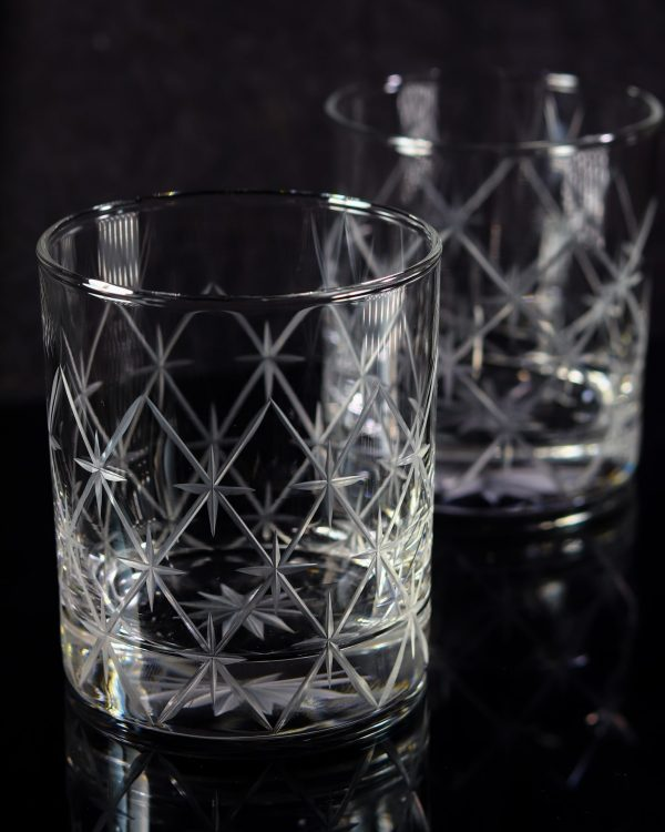 Volcano Old Fashioned Whiskey Glass 4