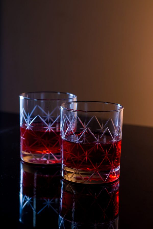 Volcano Old Fashioned Whiskey Glass 5
